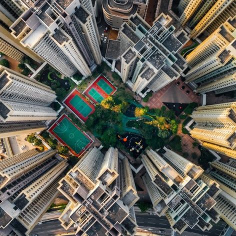 پاورپوینت تراکم جمعیتی و ساختمانی در شهرها