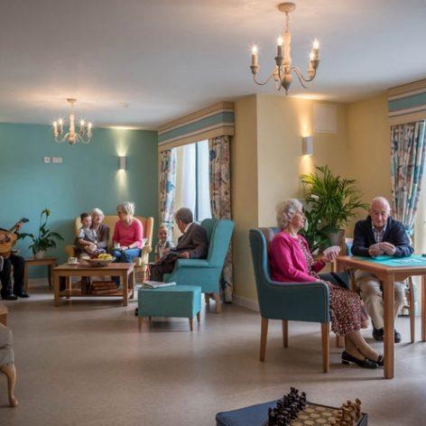 پروژه جامع طراحی معماری خانه سالمندان