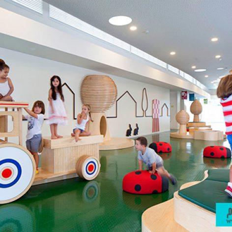پروژه جامع و کامل معماری طراحی خانه کودک