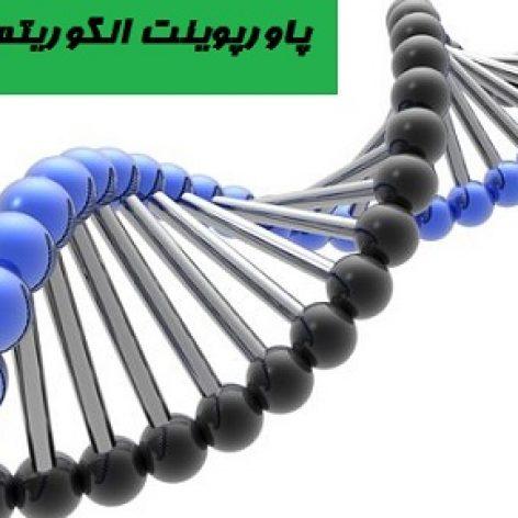 پاورپوینت کامل الگوریتم ژنتیک