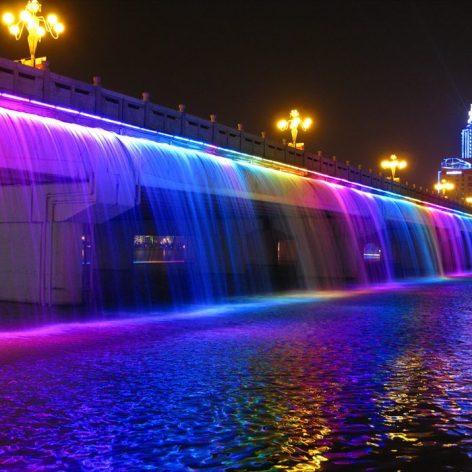 پاورپوینت تأثیرات نور بر زیبائی فضاهای شهری