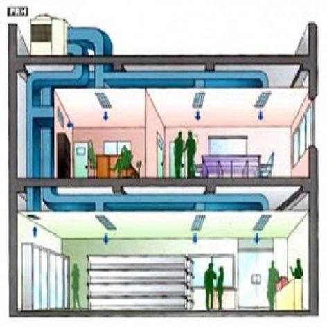 پروژه طراحی و محاسبه تاسیسات الکتریکی یک بیمارستان ۶۰ تخته خوابی مدرن