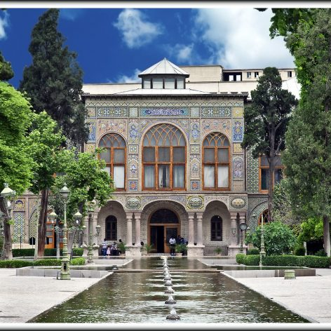 پلان جامع و کامل اتوکد کاخ گلستان