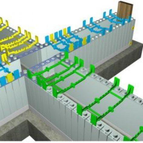 پروژه سیستم ساختمان های بتن مسلح با قالب عایق ماندگار ICF+هدیه رایگان