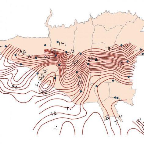 جامع ترین نقشه GIS آب های زیرزمینی تهران