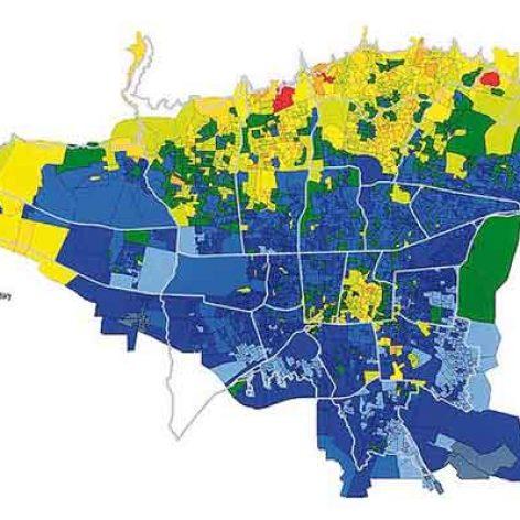 دانلود نقشه GIS خاکشناسی شهر تهران