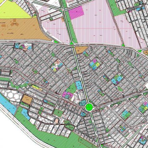 دانلود نقشه GIS منطقه ۱۰ شیراز